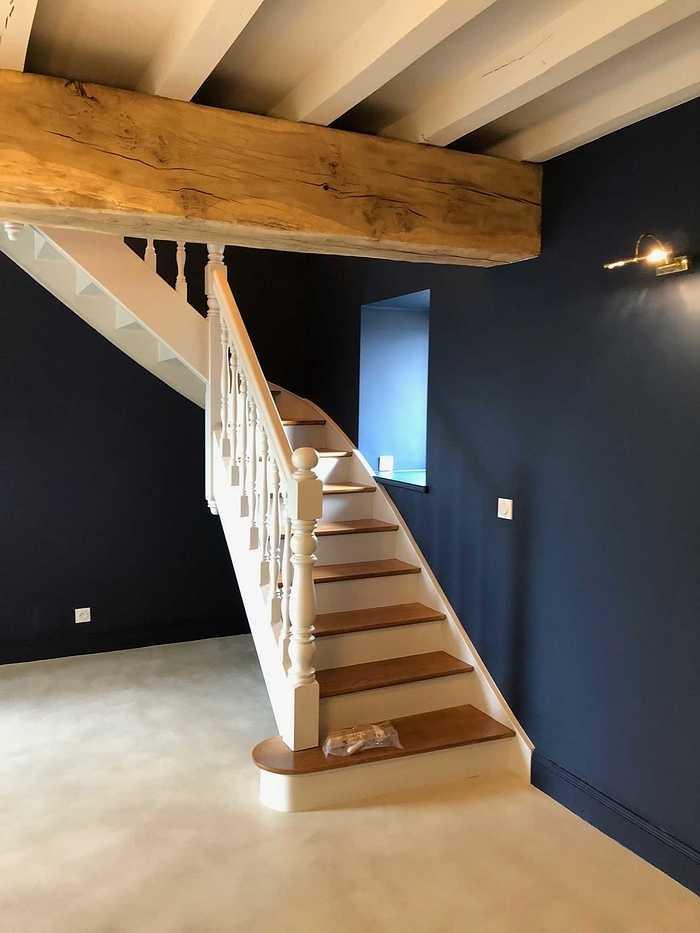 Rénovation d''un escalier en Côtes-d''Armor (22) - Ploubazlanec 6240093722983837337344636819693675547721728n