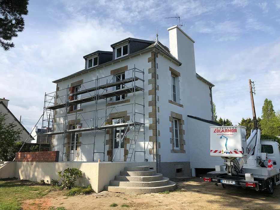 Rénovation extérieur d''une maison - Côtes-d''Armor (22) / Ravalement par Cassiopée Décor / Saint-Quay Portrieux 624036163525935387802075179413298331779072n