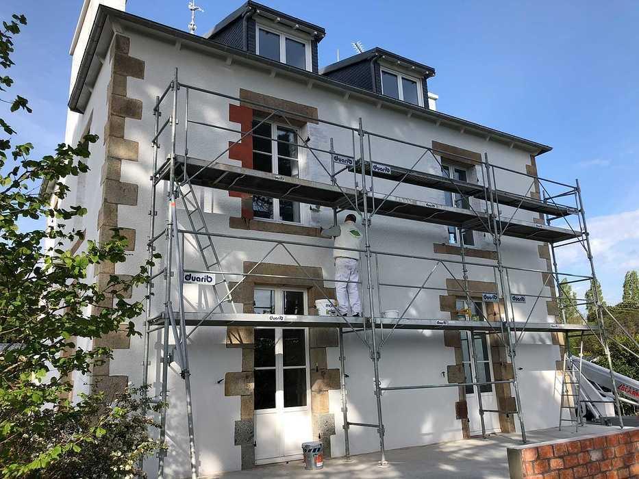 Rénovation extérieur d''une maison - Côtes-d''Armor (22) / Ravalement par Cassiopée Décor / Saint-Quay Portrieux 624129899069619196515853221503429398495232n